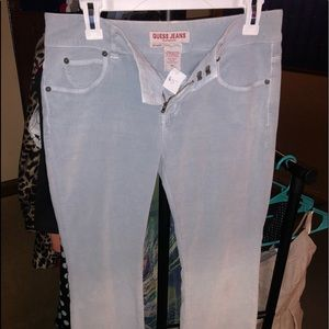 Guess Corduroy Pants Size 28